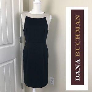 Dana Buchman Black Sleeveless Dress Sz 8